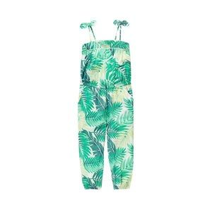 Spearmint Palm Jumpsuit by Janie and Jack
